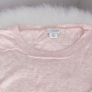 J. Crew Light Pink Sweater